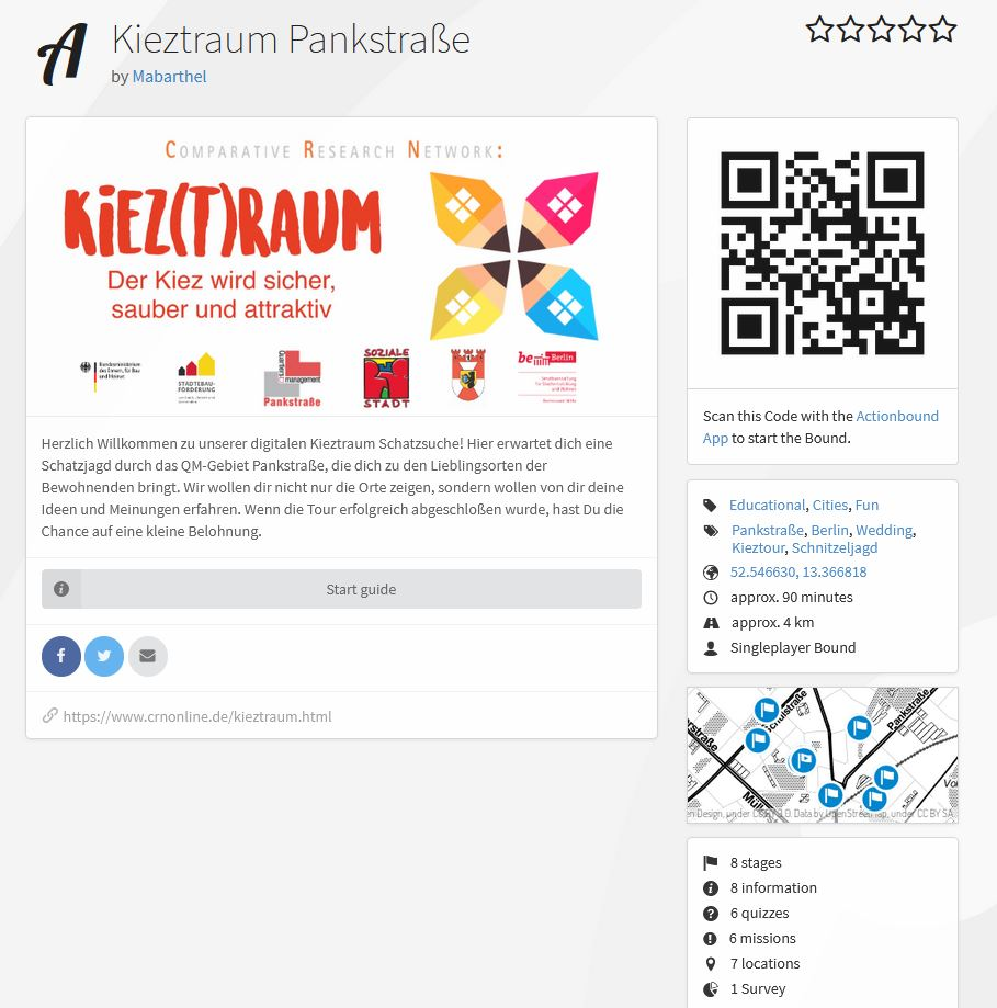 Kieztraum screenshot actionbound